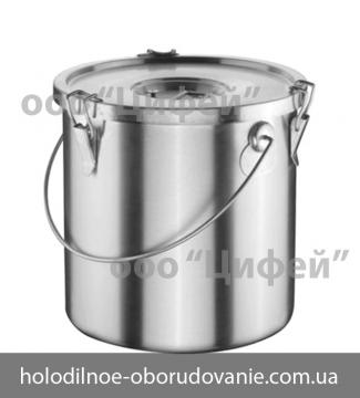 Термоведро для готовой пищи с крышкой на 10.5 л