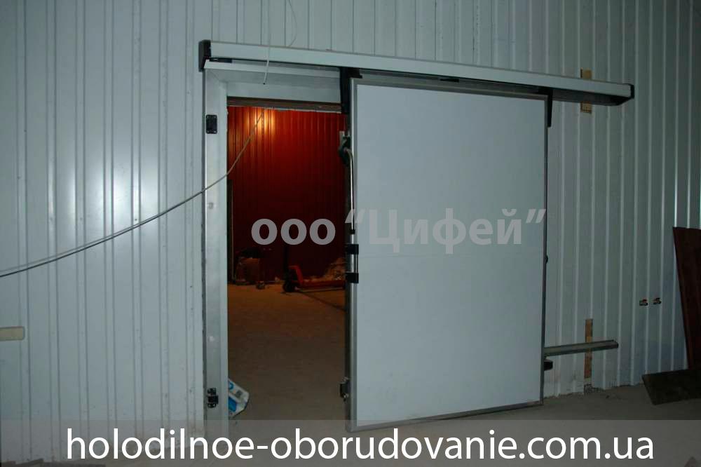 Откатные двери для холодильных камер купить в кредит