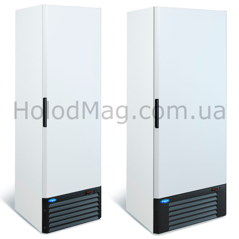 Шкаф морозильный с глухой дверью МХМ Капри Н на 500 и 700 л