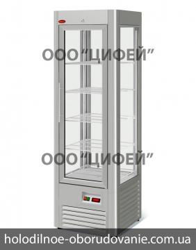 Шкаф кондитерский холодильный RS-0,4 VENETO нержавейка МариХолодМаш
