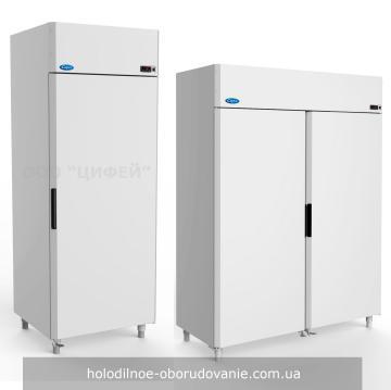 Холодильный шкаф с глухой дверью и верхним агрегатом Капри МВ
