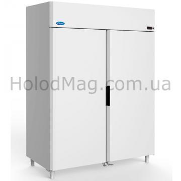 Холодильный шкаф глухой двухдверный МХМ Капри МВ на 1200 и 1500 л