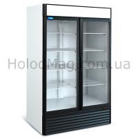 Холодильный шкаф стеклянный распашной МХМ Капри СК на 1200 и 1500 л