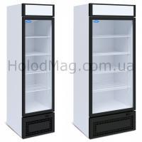 Универсальный шкаф со стеклянными дверьми МХМ Капри 0,5 УСК, 0,7 УСК