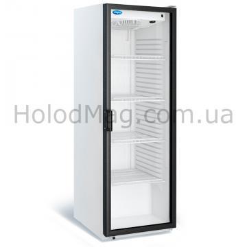 Стеклянный холодильный шкаф МХМ Капри П-390С без лайтбокса на 390 л