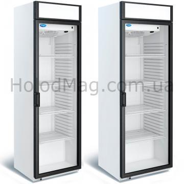 Холодильный шкаф МХМ Капри П-390 СК, П-490 СК для напитков с лайтбоксом на 390 и 490 л
