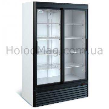 Холодильный шкаф МХМ ШХ 0,80С со стеклянной дверью купе на 800 л