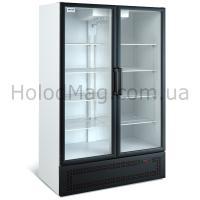 Холодильный шкаф среднетемпературный МХМ ШХ 0,80С со стеклянной дверью на 800 л