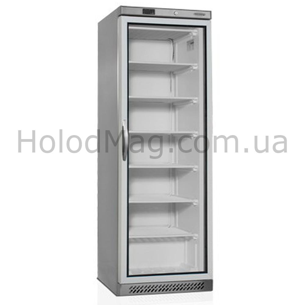 Морозильный шкаф со стеклянной дверью на 340 л Tefcold UF400SG-P