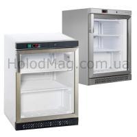 Шкаф морозильный со стеклянной дверью на 120 л TEFCOLD UF200SG-P, UF200G-P