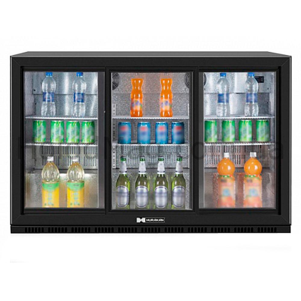 Барный холодильный шкаф купе HURAKAN на 300 л
