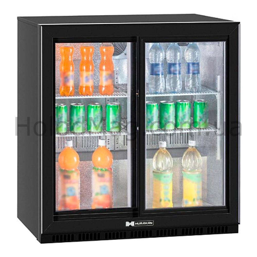 Барный холодильный шкаф купе HURAKAN на 210 л