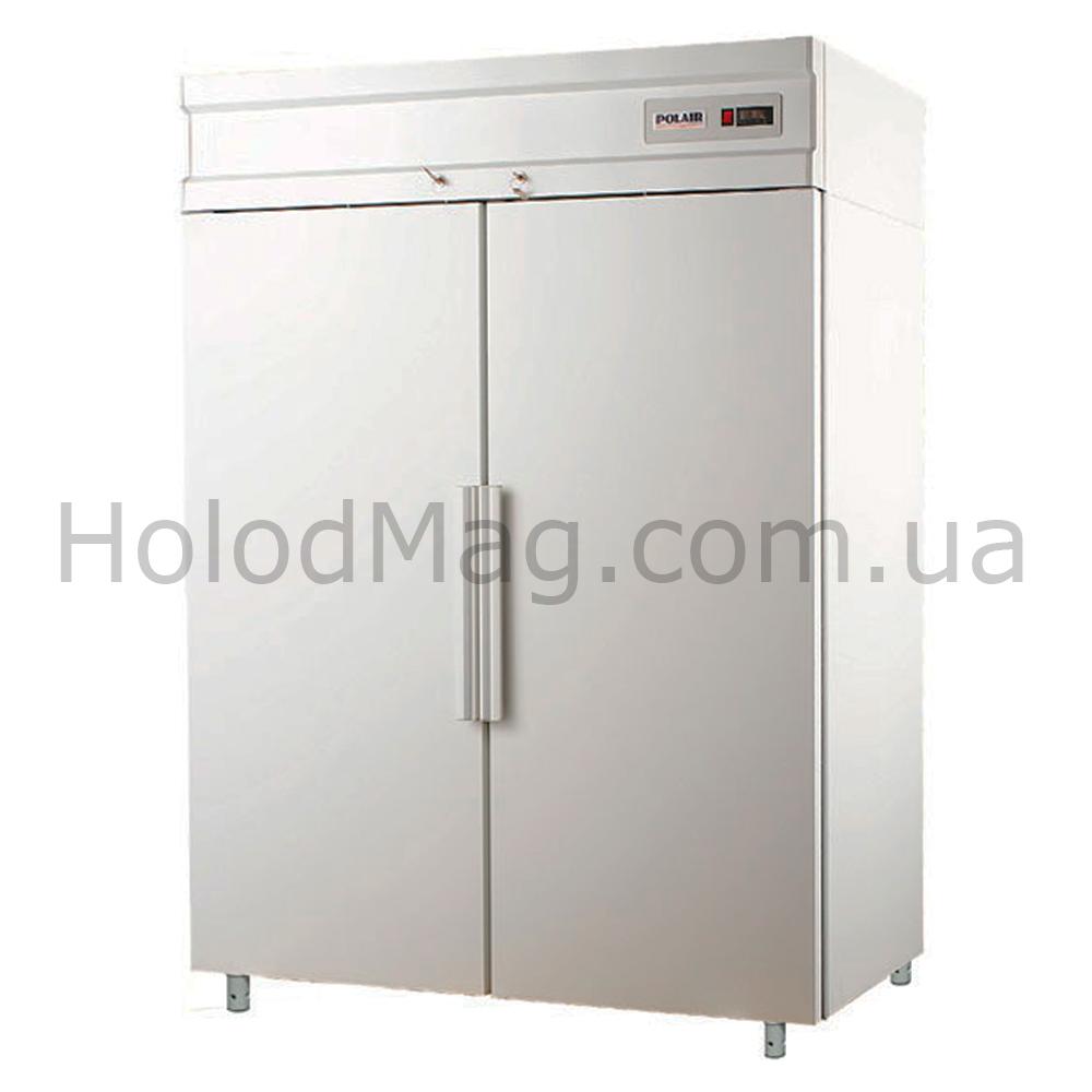 Холодильный шкаф с глухими дверьми Polair CM110-S, CM114-S на 1000 и 1400 л
