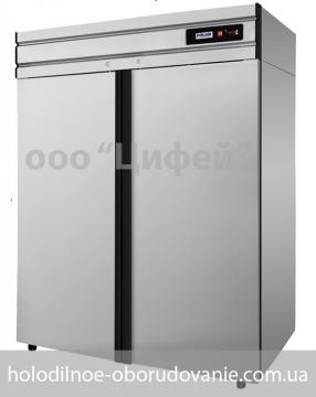 Шкаф холодильный Polair с глухой дверью нежавейка