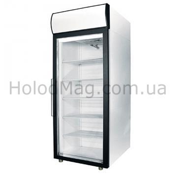 Шкаф морозильный со стеклянной дверью Polair DP105-S, DP107-S
