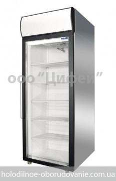 Шкаф холодильный Polair Россия со стеклянной дверью