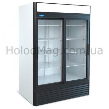 Холодильный шкаф купе стеклянный МХМ Капри 1,12 СК, 1,5 СК  на 1200 и 1500 л