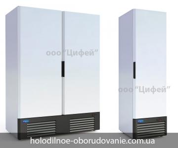 Универсальный холодильный шкаф Капри с металлической дверью