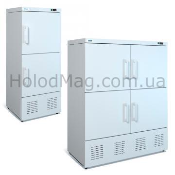 Комбинированный холодильный шкаф ШХК