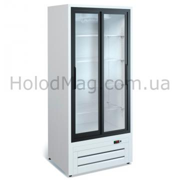 Среднетемпературный холодильный шкаф Эльтон 0,7 двери купе МариХолодМаш