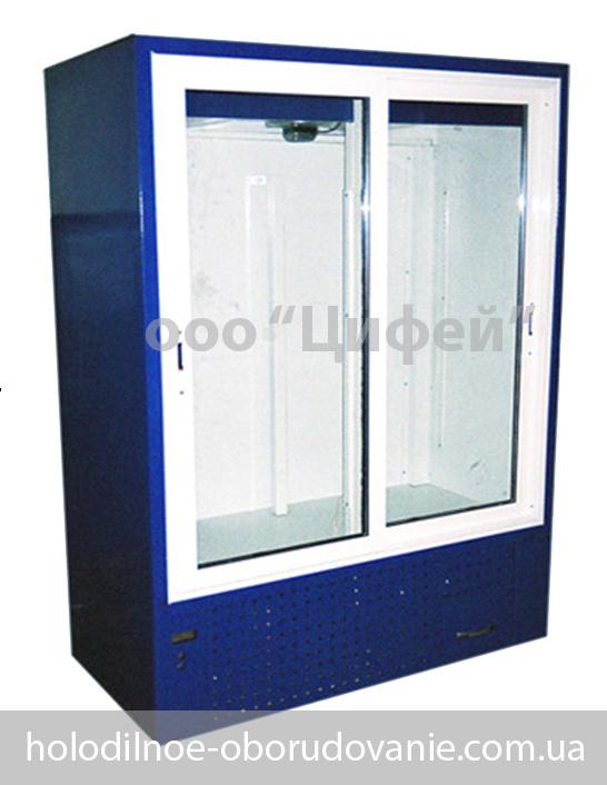 Холодильный шкаф Украина с раздвижными дверьми
