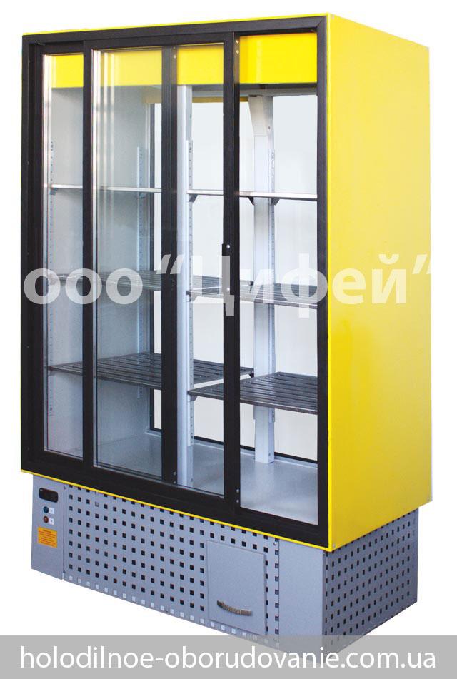 Шкаф холодильный со стеклянными дверьми