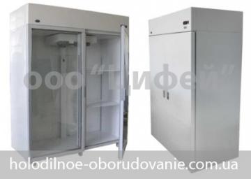 Холодильный шкаф Торино с глухими  дверьми