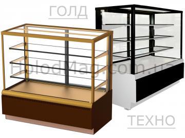 Кондитерские витрины Carboma Cube Lux ВХСв (Полюс)