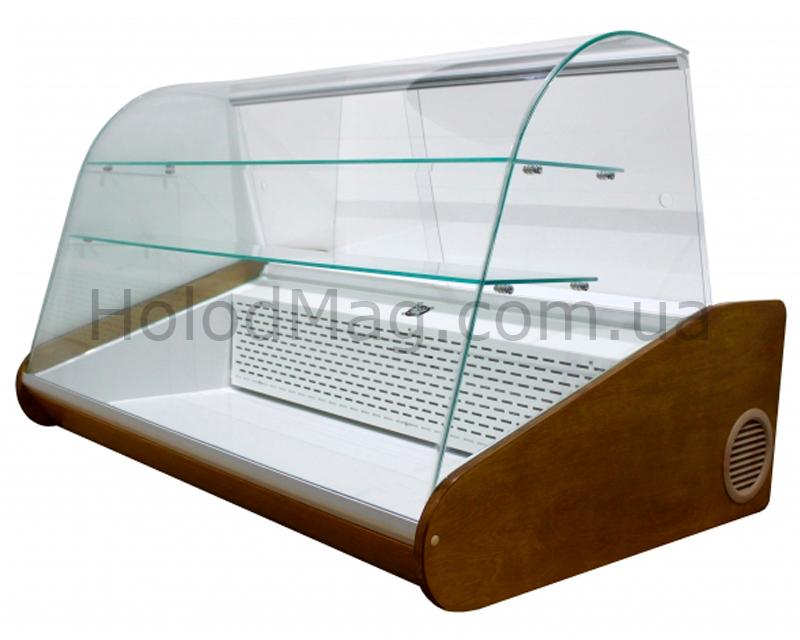 Кондитерская настольная витрина с охлаждаемыми полками Kondi-Lux-D