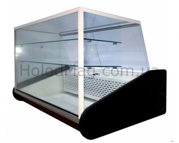 Кондитерская настольная витрина КУБ с охлаждаемыми полками Kondi-Cube-D