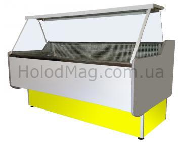 Холодильная витрина Среднетемпературная Maxi-Box с прямым стеклом