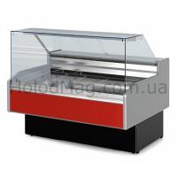 Витрина Холодильная среднетемпературная Двина QS ВС с прямым стеклом
