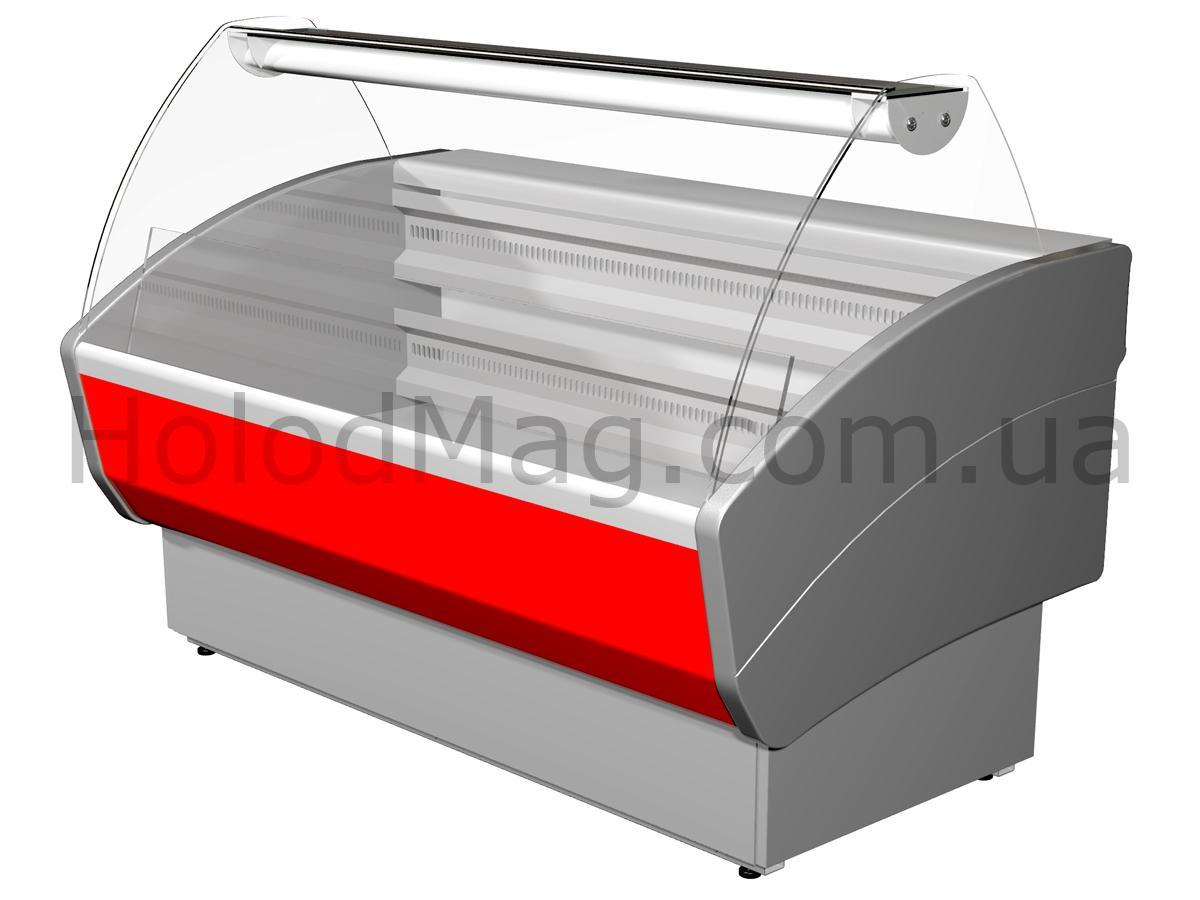 Холодильная витрина низкотемпературная Полюс Эко ВХСн
