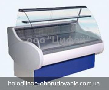 Витрина универсальная Таир с гнутым стеклом