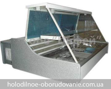 Универсальная настольная витрина Eko-N (Орта) с прямым стеклом