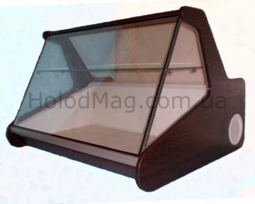 Настольная витрина Холодильник Макси с увеличенной выкладкой и полкой