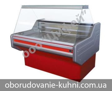 Холодильная витрина с прямым стеклом Классика