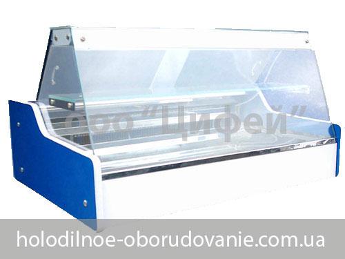 Настольная холодильная витрина Мини с прямым стеклом