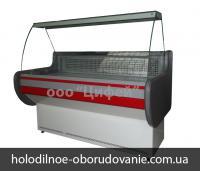 Низкотемпературная витрина - Лира с гнутым стеклом