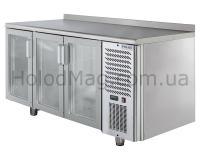 Холодильный стол 3 двери Polair TD3 GN-G