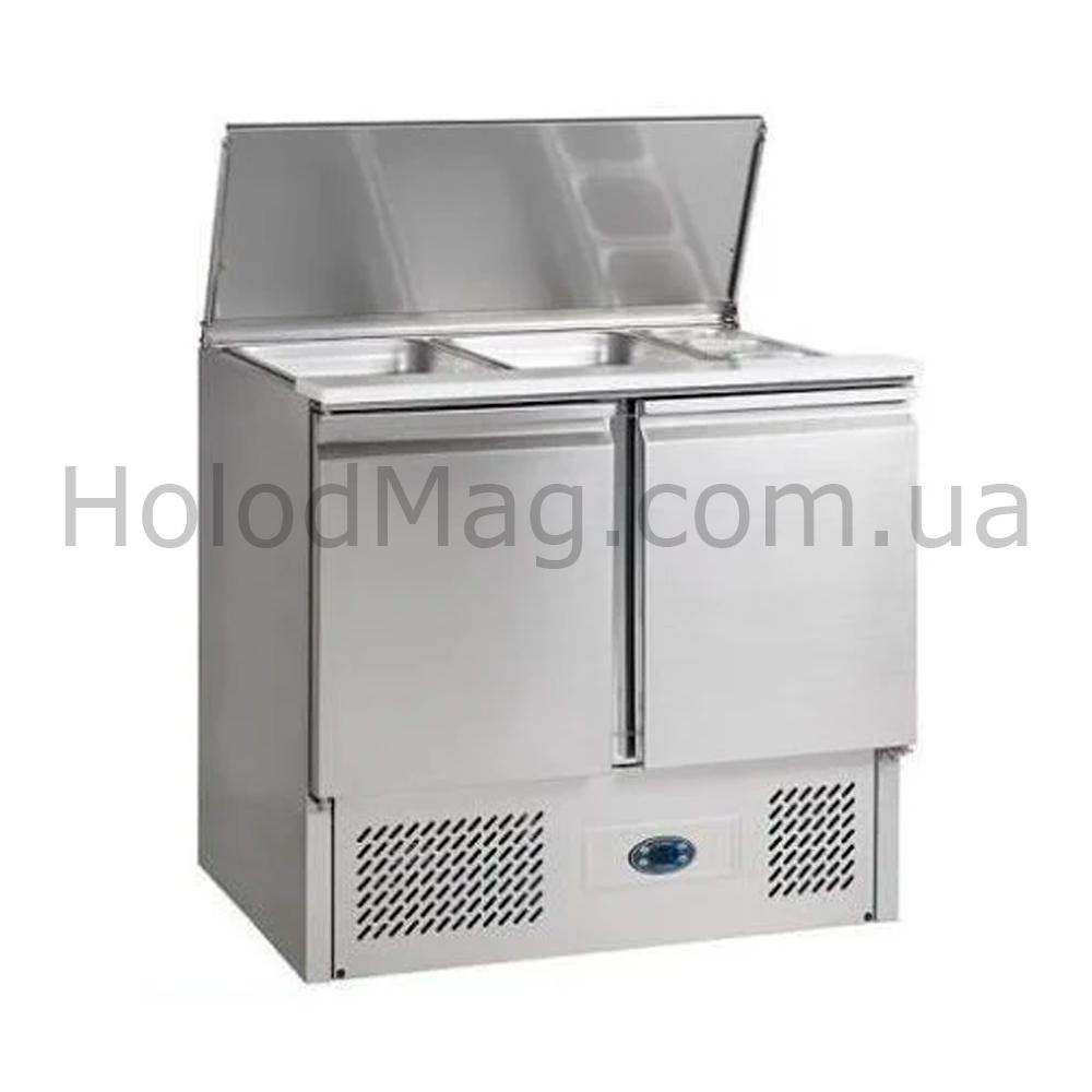 Стол-саладетта холодильный двухдверный TEFCOLD SA920-I
