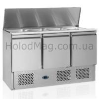 Стол-саладетта холодильный трёхдверный Tefcold SA1365-I