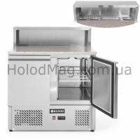 Стол холодильный для пиццы двухдверный Hendi 232859