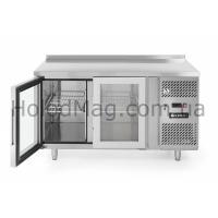 Стол холодильный 2-дверный застекленный Hendi 233429