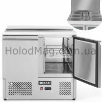 Стол холодильный 2-дверный с крышкой саладетта Hendi 232804