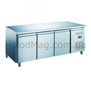 Холодильный универсальный стол FROSTY GN 3100TN на 3 двери
