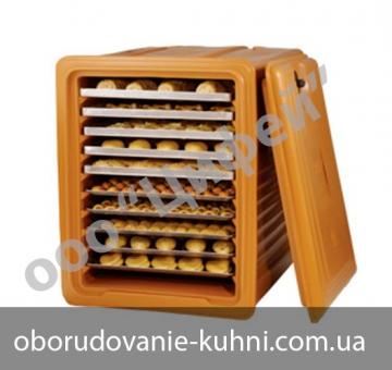 Термоконтейнер для выпечки на 10 уровней